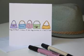 Fashionable card